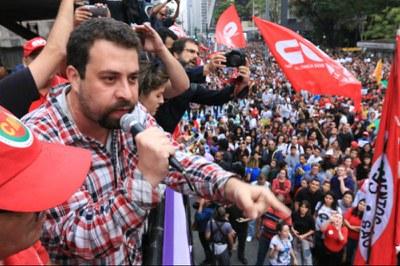 CUT repudia truculência da PM e prisão de Boulos