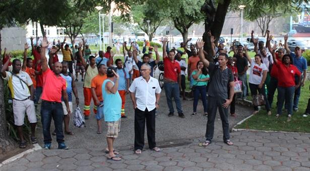 Campanha Salarial: limpeza pública em estado de greve