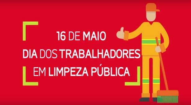16 de maio: confira a homenagem do Sindilimpe aos trabalhadores em limpeza pública