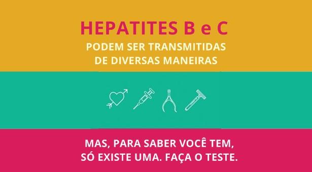 28 de julho é Dia Mundial de Luta contra as Hepatites Virais (B e C)
