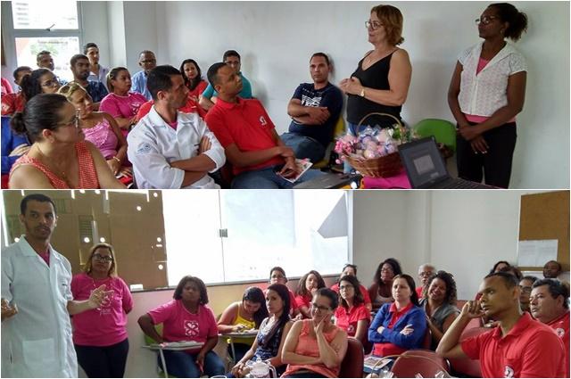 Outubro Rosa! Sindilimpe-ES promove palestra sobre a importância da prevenção ao câncer de mama