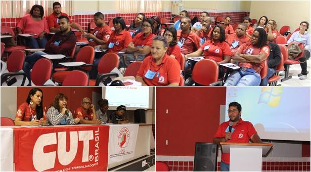 Confira como foi o primeiro dia do Seminário sobre a Reforma Trabalhista do Sindilimpe-ES