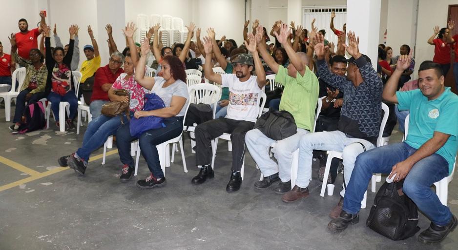 Está aberta a Campanha Salarial 2020 do Asseio e Conservação com reivindicação de reajuste de 10% no salário!