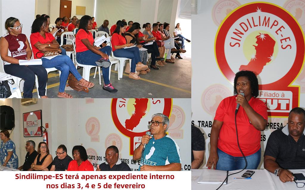Para melhor atender a categoria, Sindilimpe-ES inicia seminário interno sobre NRs e convenção coletiva