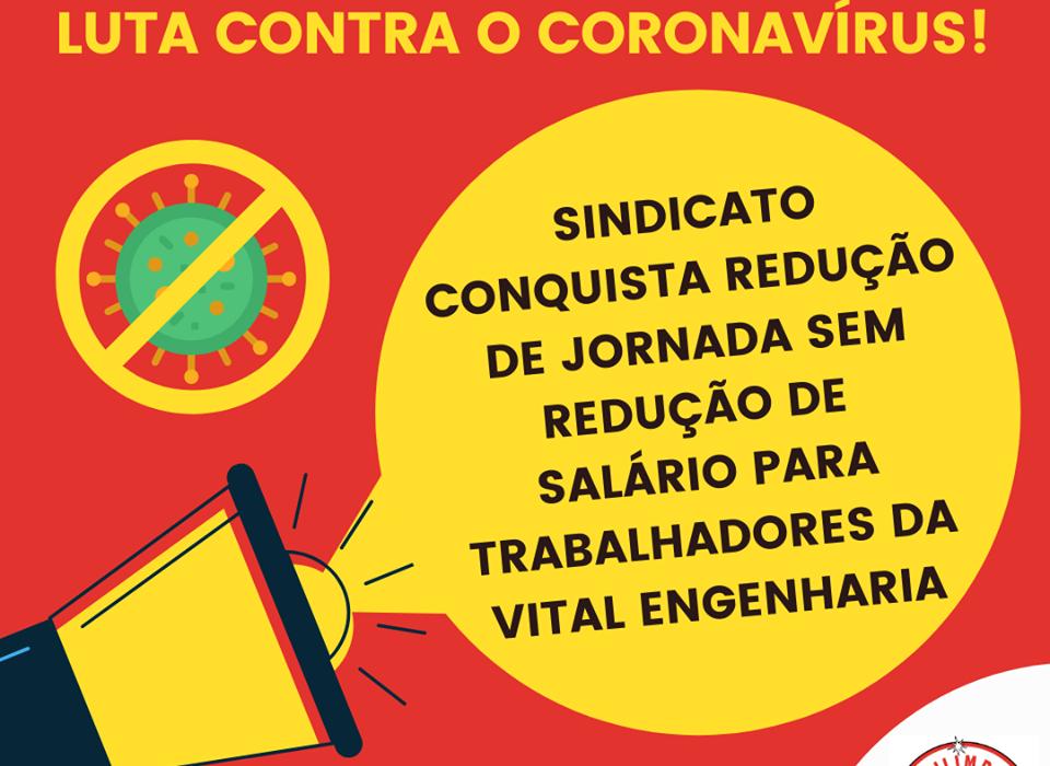 Sindilimpe-ES garante redução de jornada sem redução de salário