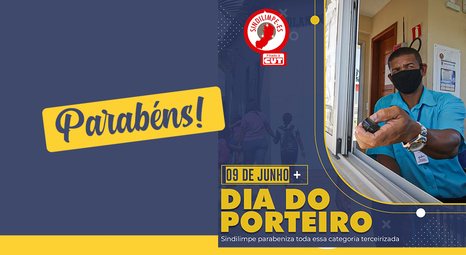 9 de junho: Dia da/o Porteira/o