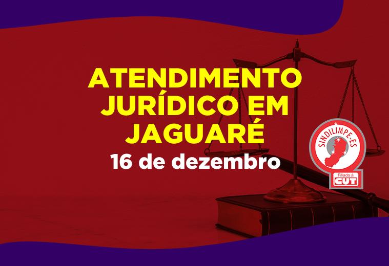 Sindilimpe-ES realizará atendimento jurídico em Jaguaré nesta quarta, 16